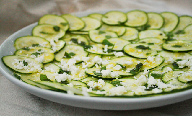 Zucchini Carpaccio Recipes — Dishmaps